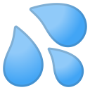 Sweat droplets icon
