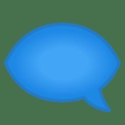 Left speech bubble icon