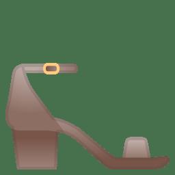 Womans sandal icon