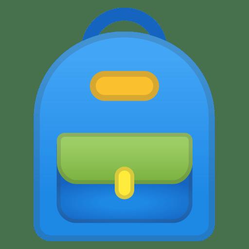 12192-school-backpack icon