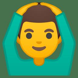 Man gesturing OK icon