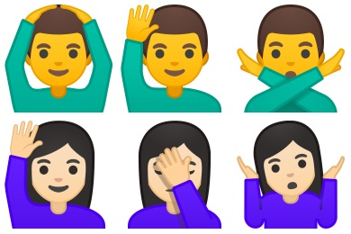 Noto Emoji People Expressions Icons