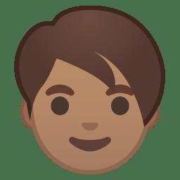 Adult medium skin tone icon