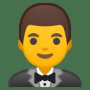 Man in tuxedo icon