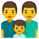 Family man man boy icon