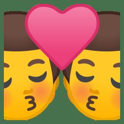 Kiss man man icon
