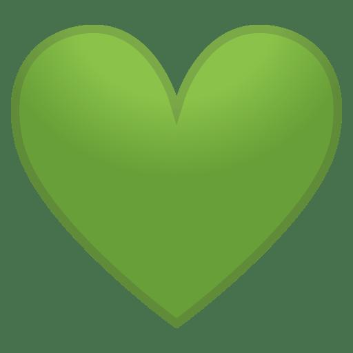 12145-green-heart icon
