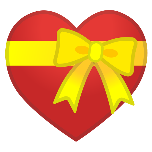 12150-heart-with-ribbon icon