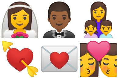 Noto Emoji People Family & Love Icons