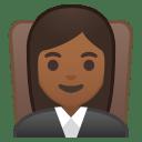 10251-woman-judge-medium-dark-skin-tone icon