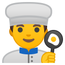 Man cook icon