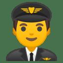Man pilot icon