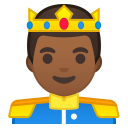 Prince medium dark skin tone icon
