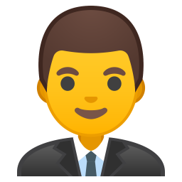 Man office worker icon
