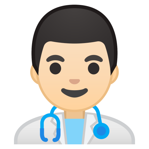 10185-man-health-worker-light-skin-tone icon