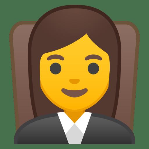 10243-woman-judge icon