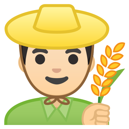 10255-man-farmer-light-skin-tone icon
