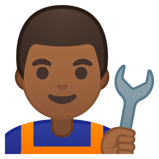 10282-man-mechanic-medium-dark-skin-tone icon