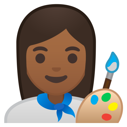 10360-woman-artist-medium-dark-skin-tone icon