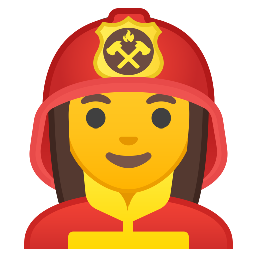 10404-woman-firefighter icon