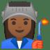 10300-woman-factory-worker-medium-dark-skin-tone icon