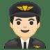 10365-man-pilot-light-skin-tone icon