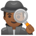 10458-man-detective-medium-dark-skin-tone icon