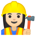 10526-woman-construction-worker-light-skin-tone icon