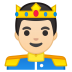 10536-prince-light-skin-tone icon