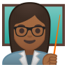 10228-woman-teacher-medium-dark-skin-tone icon