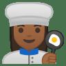 10276-woman-cook-medium-dark-skin-tone icon