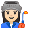 10297-woman-factory-worker-light-skin-tone icon