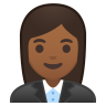 10312-woman-office-worker-medium-dark-skin-tone icon