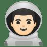 10387-man-astronaut-light-skin-tone icon