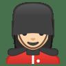 10496-woman-guard-light-skin-tone icon