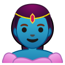 Woman genie icon