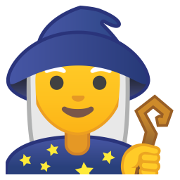 Woman mage icon