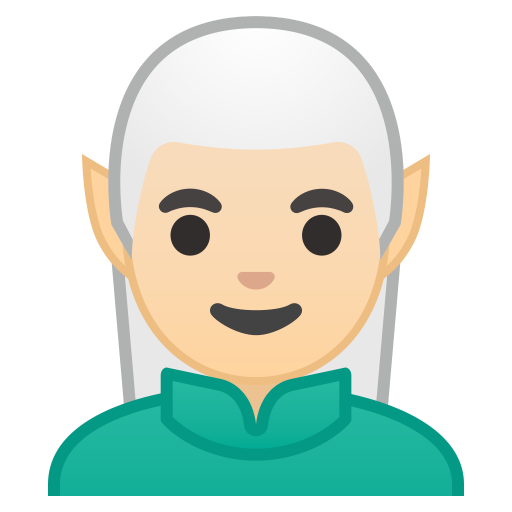 10916-man-elf-light-skin-tone icon