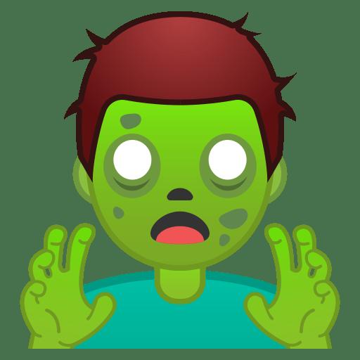 Man zombie icon