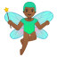 10832-man-fairy-medium-dark-skin-tone icon