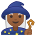 10790-woman-mage-medium-dark-skin-tone icon