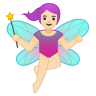 10814-woman-fairy-light-skin-tone icon