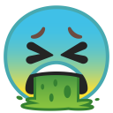 Face vomiting icon