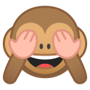 See no evil monkey icon