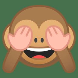 See no evil monkey icon
