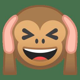 Hear no evil monkey icon