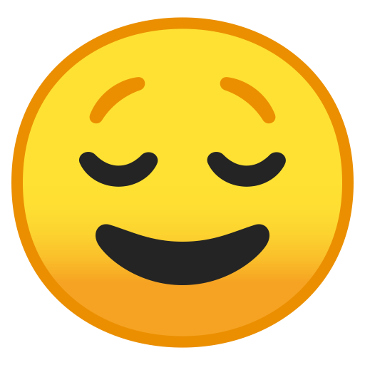 10039-relieved-face icon