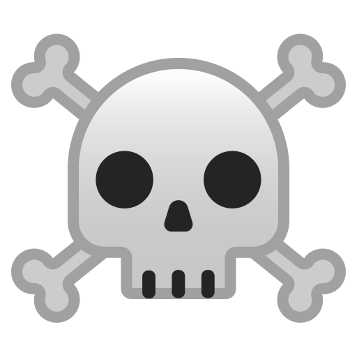 10099-skull-and-crossbones icon