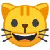10105-grinning-cat-face icon