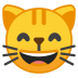 10106-grinning-cat-face-with-smiling-eyes icon